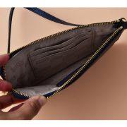 MICHAEL Michael Kors Jet Set Travel Large Top Zip Wristlet (Pale Blue)-2