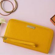 Emma Wallet Yellow