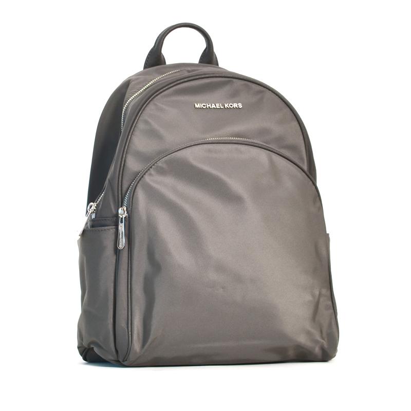 3484a8b6ab602 Michael Kors Abbey Large Backpack Graphite - Averand