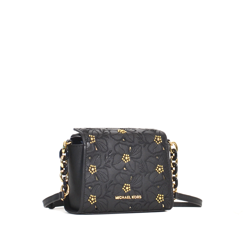 ad4fa8331657 Michael Kors Sofia Small Crossbody Black - Averand