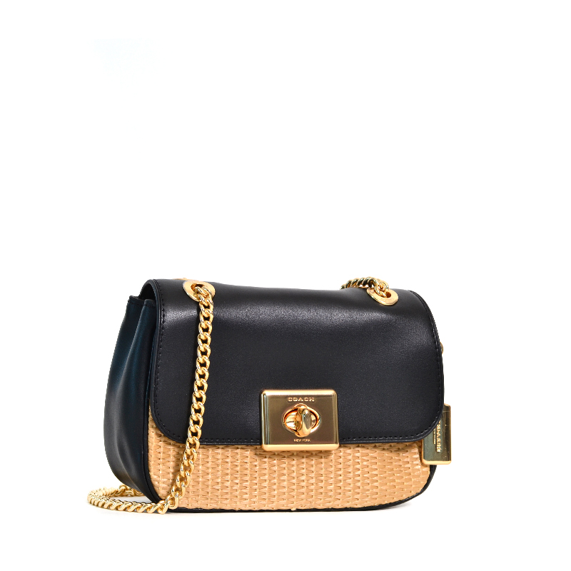 quality retail prices exquisite design Coach Mini Cassidy Crossbody Gold Natural Black - Averand
