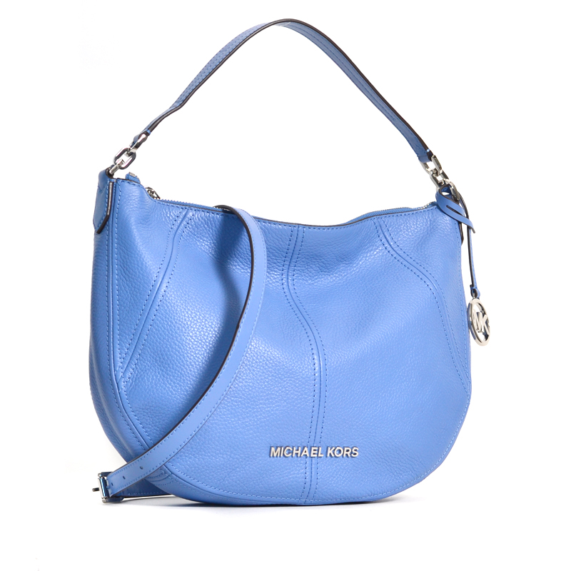 Michael Kors Bedford Medium Crescent French Blue Averand