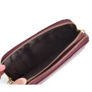 VLV Emma Chain Crossbody Burgundy-4