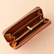 VLV Emma Continental Wallet Light Brown-2