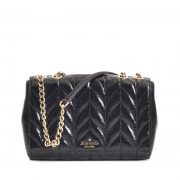 Kate Spade Emelyn Briar Lane Quilted Patent Black-1